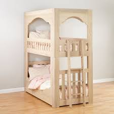 Dimensions Of Bunk Beds by Terrace Wooden Twin Over Twin Bunk Bed The Land Of Nod