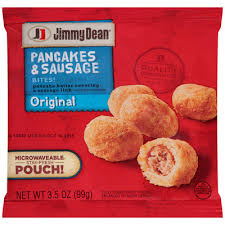cuisine de a 0 z jimmy dean original pancakes sausage bites 3 5 oz pouch reviews