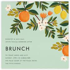 wedding brunch invitation wedding brunch invitations online at paperless post