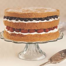 how to layer a cake baking mad