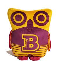 brisbane broncos nrl large owl cushion pillow toy ebay
