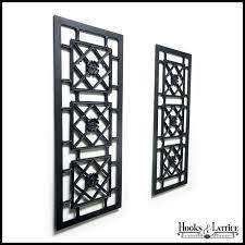 alexandria metal decorative shutters hooks lattice