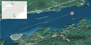 St Lawrence River Map Philanthropist Richard Macsherry Was 9 When Lehigh Graduate