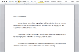 how to write a resignation letter template resignation letter