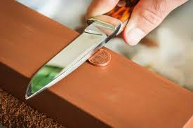 best way to sharpen kitchen knives two penny knife sharpening trick marvelous best way to sharpen
