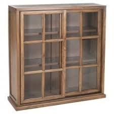 Wood Bookcase With Doors Low Bookcases With Doors Foter