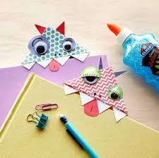 michaels kids club bookmark craft rocket city mom