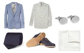 mr porter summer wedding style guide business insider
