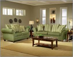 sofas center living room with light green sofa stock photo image
