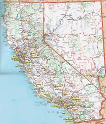 California Zip Code Map by Printable Road Map Of California California Map