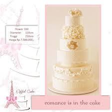 wedding cake jakarta harga heidy heici sakachan wedding cake eiffel cake