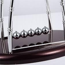 pendule de bureau nouveau design newtons cradle acier balance balls physique
