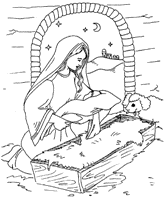 christmas nativity 500 free colouring pages for kids paper