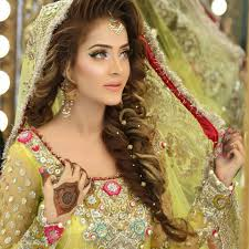 Trendy Pakistani Bridal Hairstyles 2017 New Wedding Hairstyles Look Best Pakistan Winter Sweaters For Girls 5 Fashionglint
