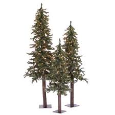 the aisle alpine green artificial tree