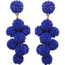 royal blue earrings royal blue earrings shop for royal blue earrings on polyvore