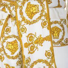 Esszimmerst Le Yellow Versace Barocco U0026robe Bademantel Weiß Kaufen Amara