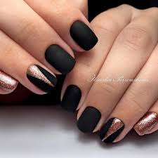 21 matte black nails that will make you thrilled nail designs