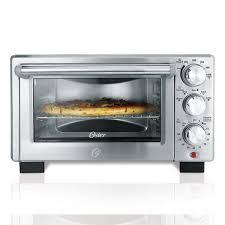 Under The Cabinet Toaster Oster Designed For Life 6 Slice Digital Toaster Oven On Oster Com
