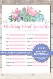 21 best bridal shower games printables images on pinterest