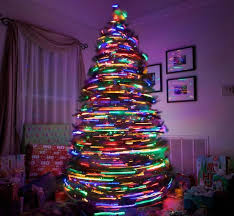 creative christmas tree lights 18 of the most creative christmas tree ideas