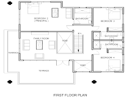 one level floor plans 3 bed plan 1344 sqft 28 x48 home throughout
