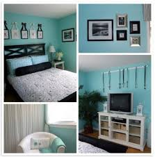 Bedroom Ideas For Teenage Girls Teal And Black - Blue and black bedroom ideas