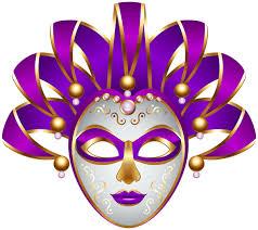 carnival masks purple carnival mask transparent png decorative elements png
