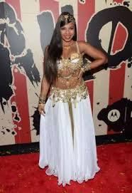 Belly Dance Halloween Costume Ashanti Douglas Belly Dancer Halloween Celebrities Move