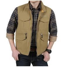 travel vests images New men 39 s mesh vest with many pockets vests plus size m 3xl jpg