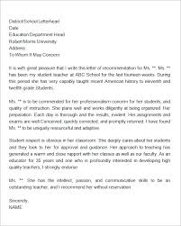 letter of recommendation for student immigration process