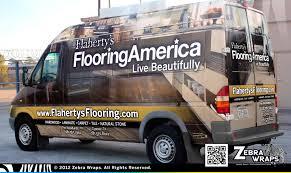 flaherty s flooring america flooring wrap zebra wraps
