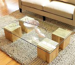 wood coffee table with glass top make a glass top coffee table in this week s do it yourself project
