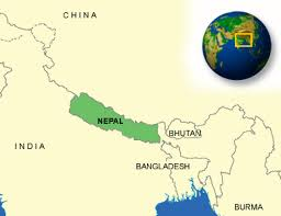 Nepal On A World Map by Nepal Facts Culture Recipes Language Government Eating