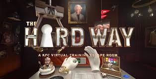 kfc kitchen becomes a virtual reality escape room baltimore sun