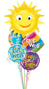 get well soon balloons delivery 31 best get well balloons images on balloon bouquet