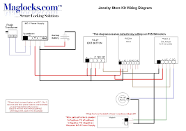 complete jewelry store magnetic lock door kit 1200lbs holding