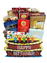 cake gift baskets the birthday cake box