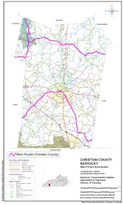 Map Of Kentucky State by Road Cycling Events And Touring Routes