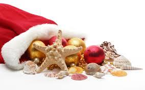 santa hats decorations new year ornaments starfish