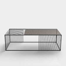 Wire Coffee Table Wire Coffee Table Small Rectangle Iacoli Mcallister