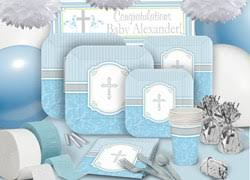 White And Gold Baptism Decorations Baptism Party Supplies Christening Decorations Shindigz Shindigz