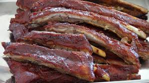 ribs in the oven with barbecue sauce the frugal chef
