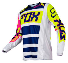 fox motocross jacket fox racing 180 falcon jersey cycle gear
