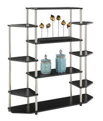 amazon com convenience concepts designs2go wall unit bookshelf