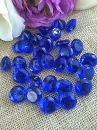 gems for table decorations 100 royal blue confetti 3 4 table decorations confetti