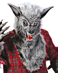 Werewolf Mask Werewolf Costume Grey Wolf Costume With Mask For Halloween