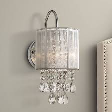 Chandelier Sconce Possini Silver Line 12 H Chrome And Sconce Y7690