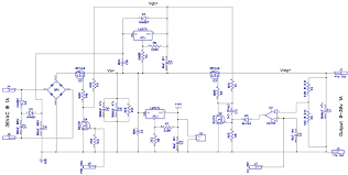 switching power supply circuit description wiring diagram components