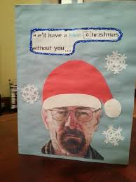 awesome breaking bad christmas card my santa really nailed it